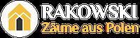 Rakowskizaeune.de - Zäune aus Polen